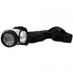 Naglavna svetilka 21 led 73561, črna