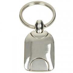 Kovinski obesek za ključe 73737, srebrna