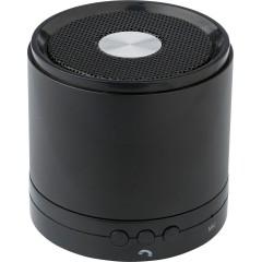 Kovinski Bluetooth zvočnik s funkcijo za prostoročno telefoniranje, črna 7407-01