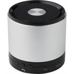 Kovinski Bluetooth zvočnik s funkcijo za prostoročno telefoniranje, srebrna-črna 7407-50