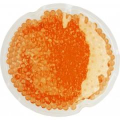 Grelec - hladilec za roke - okrogel 10cm, oranžna 7415-07