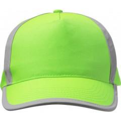 Odsevna - visokovidna kapa s šiltom Neon, zelena 7489-368