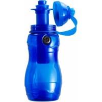 Športni bidon za kolo - plastenka za vodo s kompasom in hladilnim tulcem, modra 7539-05