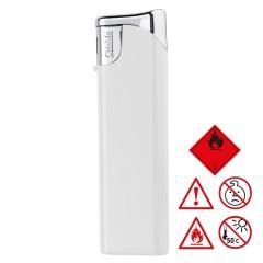 Elektronski vžigalnik - polnilni - z zaščito pred otroško uporabo child-proof lock Knoxville, bela 755206