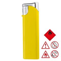 Elektronski vžigalnik - polnilni - z zaščito pred otroško uporabo child-proof lock Knoxville, rumena 755208