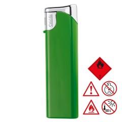 Elektronski vžigalnik - polnilni - z zaščito pred otroško uporabo child-proof lock Knoxville, zelena 755209