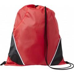 Nahrbtnik - športna vreča z vrvico, rdeča-črna 7643-08