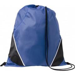 Nahrbtnik - športna vreča z vrvico, modra-črna 7643-23