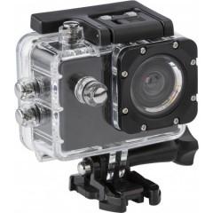 HD akcijska kamera (720p), 16GB, do 30m in veliko dodatkov, črna 7686-01