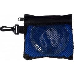 Set za tek - grelec in športna brisača v etuiju, modra 7723-23