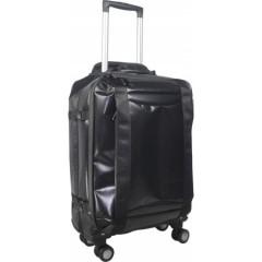 Lahka potovalna torba na štirih kolescih s teleskopskim ročajem, črna 7742-01
