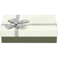 Darilna škatla, bela Pravokotna 24X17X6,5Cm 775174A