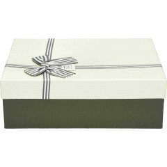 Darilna škatla, bela Pravokotna 29X21X9,0Cm 775174B