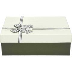 Darilna škatla, bela Pravokotna 33X25X11,5Cm 775174C