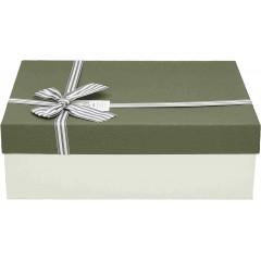 Darilna škatla, siva Pravokotna 29X21X9,0Cm 775175B