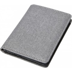Denarnica za bančne in kreditne kartice z RFID zaščito Style, siva 7757-03