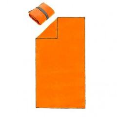 Brisača Active BIG microfibra 80x160cm 7773009, oranžna