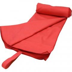 Brisača ACTIVE SOLID microfibra 100x180 7774003, rdeča