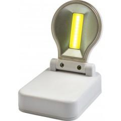 Delovna svetilka z lečo in magnetom, bela 7793-02