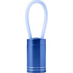 Kovinska LED lučka z obeskom, modra 7794-23
