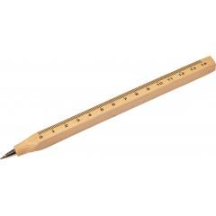 Kemični svinčnik iz lesa z merilom, wooden 7801-11