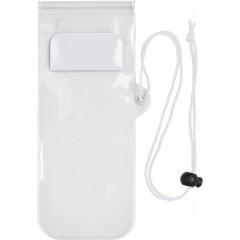 Vodoodporni etui za mobilni telefon, bela 7807-02