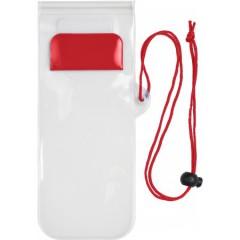 Vodoodporni etui za mobitel, rdeča 7807-08