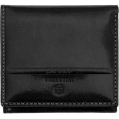 Denarnica usnjena Valentini ženska črna 78072, črna