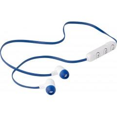 Brezžične slušalke v etuiju z vrvico, ki je hkrati tudi polnilni kabel, rdeča 7815-05