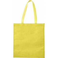 Hladilna nakupovalna vrečka z Velcro zapiranjem na ježka, rumena 7823-06