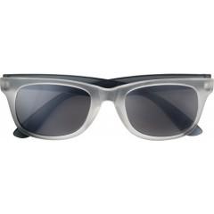 Reklamna sončna očala z UV400 zaščito - zrcalna, črna 7826-01