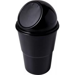 Mali koš za smeti za v avto ali pisarno, črna 7831-01