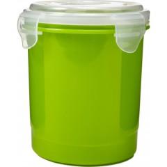 Plastična posoda s pokrovom 720ml Microwave, zelena 7837-29