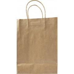 Darilna vrečka iz EKO papirja 30 × 22 × 11 cm, svetlo rjava 7841-11