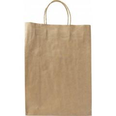 Darilna vrečka iz EKO papirja 35,4 × 26 × 11 cm, svetlo rjava 7842-11