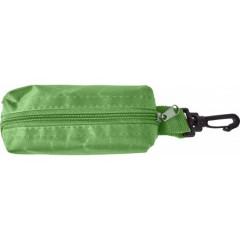 Barvice s šilčkom v peresnici s karabinom, zelena 7843-04