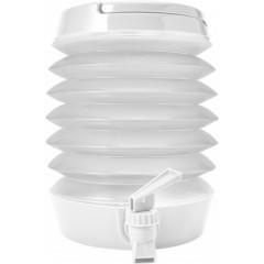 Zložljiv dispenzer za vodo s pipico 3,5L, bela 7847-02