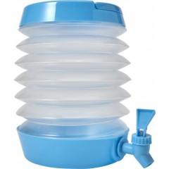Zložljiv dispenzer za vodo s pipico 3,5L, svetlo modra 7847-18