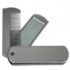 Ogledalo z glavnikom 2162S, srebrna 78506