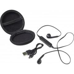 Brezžične slušalke v etuiju, črna 7890-01