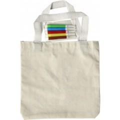 Bombažna otroška torba - vrečka s flomastri 7910-13