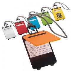 Označevalec prtljage - tablica za označevanje torbe ali potovalke Kemer, oranžna 791810