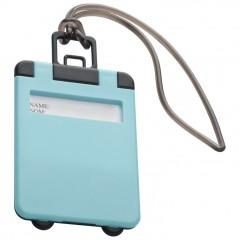 Označevalec prtljage - tablica za označevanje torbe ali potovalke Kemer, svetlo modra 791824