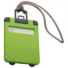 Označevalec prtljage - tablica za označevanje torbe ali potovalke Kemer, svetlo zelena 791829