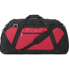 Potovalna ali športna torba XXL 65x33cm, rdeča-črna 7947-83