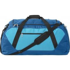 Potovalna ali športna torba XXL 65x33cm, svetlo modra-črna 7947-95