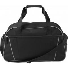 Nogometna torba s pasom, črna 7948-01