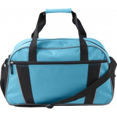 Nogometna torba s pasom, svetlo modra 7948-18