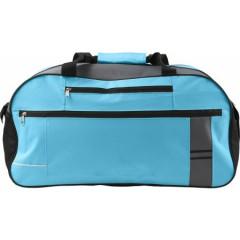 Potovalna ali športna torba 55x25x28cm, svetlo modra 7949-18