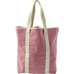 Plažna torba z dodatnim žepom Piran, roza 7956-17